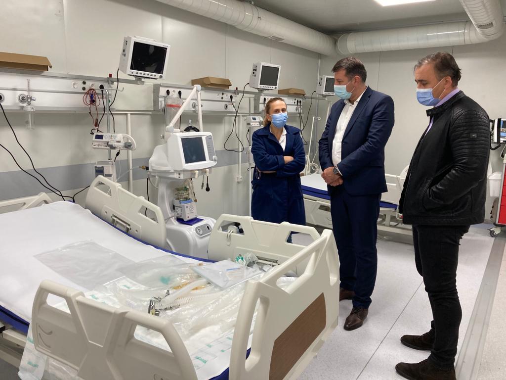 Bolnavii din Neamț infectați cu COVID-19 vor putea fi tratați la spitalul modular de la Lețcani