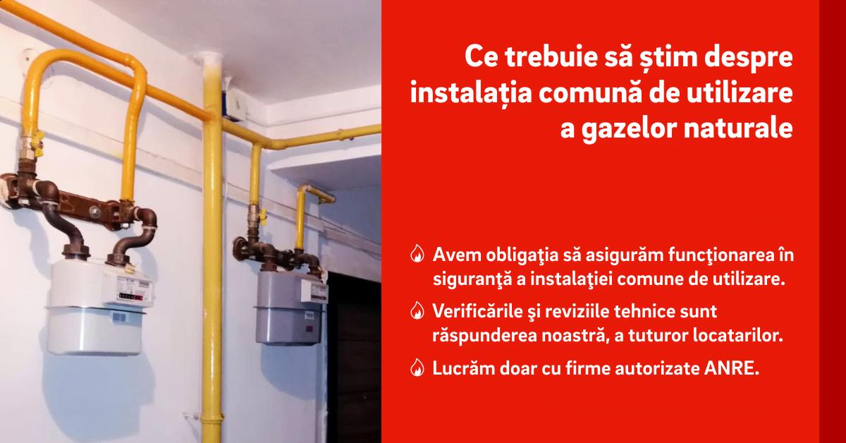 Delgaz Grid: Asociațiile trebuie să se implice în întreținerea instalațiilor de utilizare a gazului