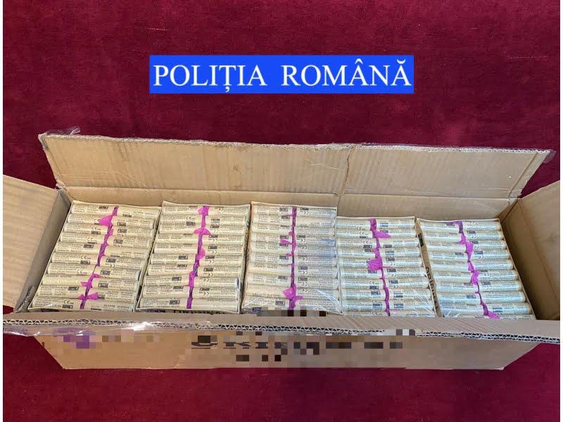 Dosar penal pentru materiale pirotehnice fără autorizație