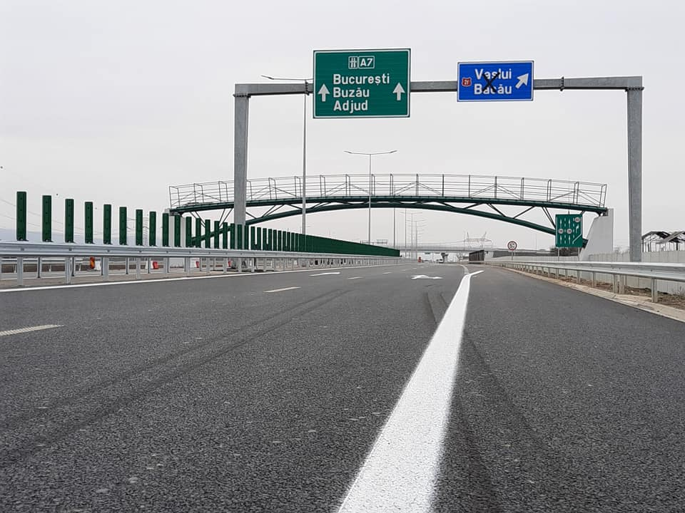Primul tronson de autostradă din Moldova, dat în trafic