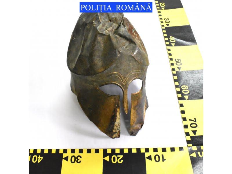 Obiect antic de patrimoniu, recuperat de polițiști
