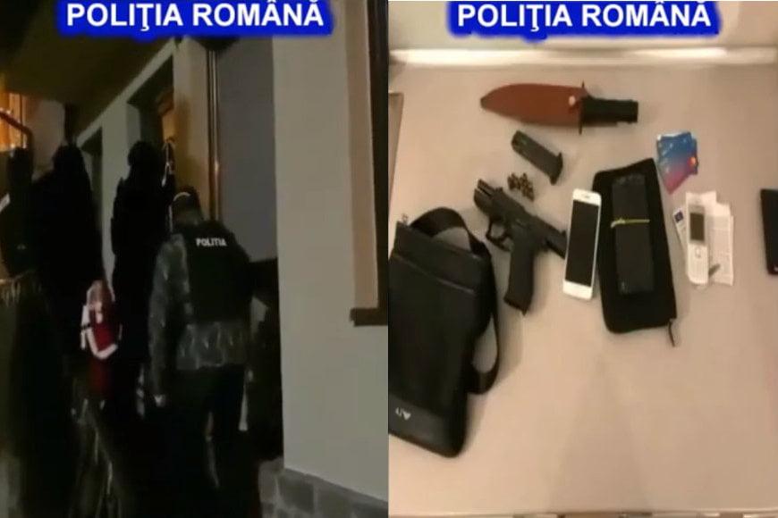 Polițiști din Neamț, în percheziții la falsificatori de bani