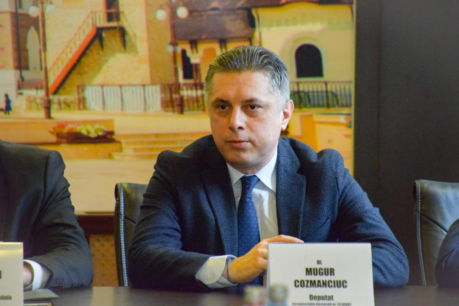 Deputatul Mugur Cozmanciuc, președintele PNL Neamț, trimis în judecată pentru trafic de influență