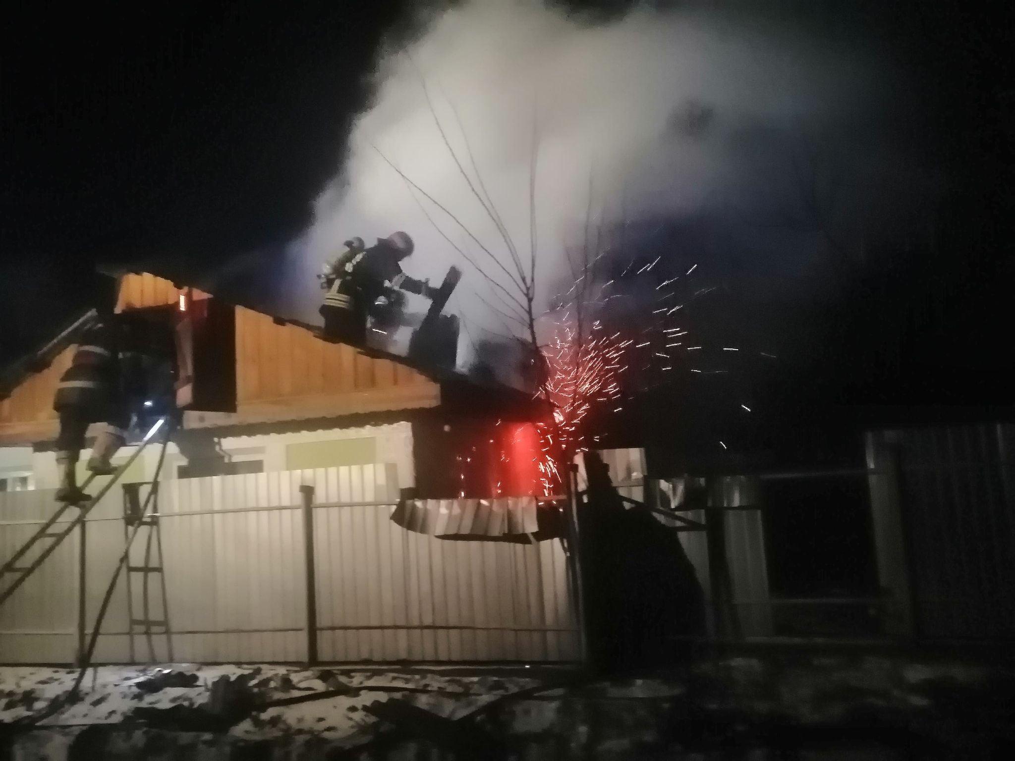 Incendiu la o casă de rugăciune din Icușești