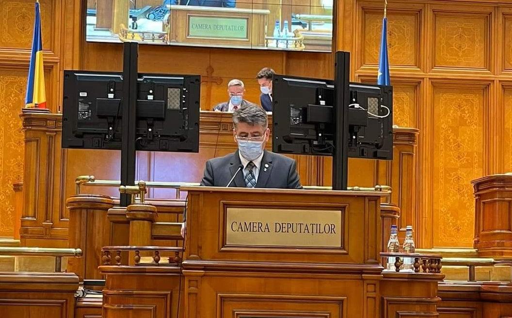 Deputatul Laurențiu Leoreanu, vicepreședinte al Camerei Deputaților
