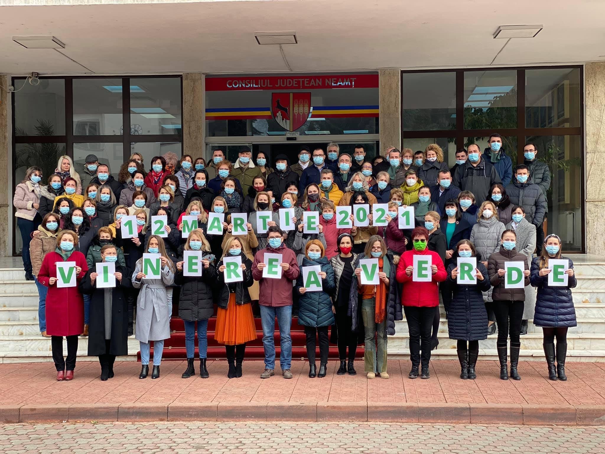 """Consiliul Județean Neamț susține proiectul """"Vinerea Verde"""""""
