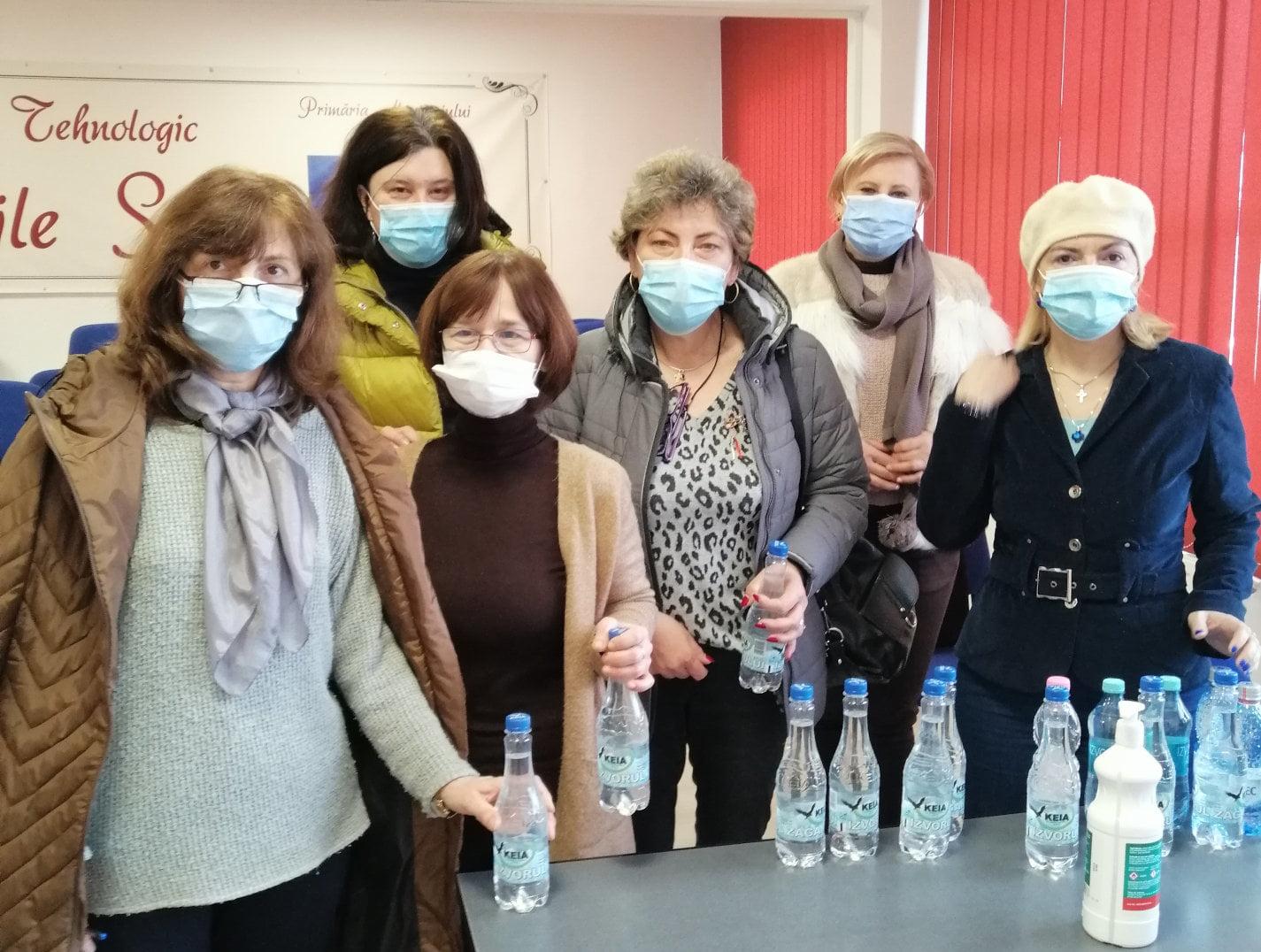 """Liceul Tehnologic """"Vasile Sav"""" a sărbătorit în pandemie """"Ziua mondială a apei"""""""