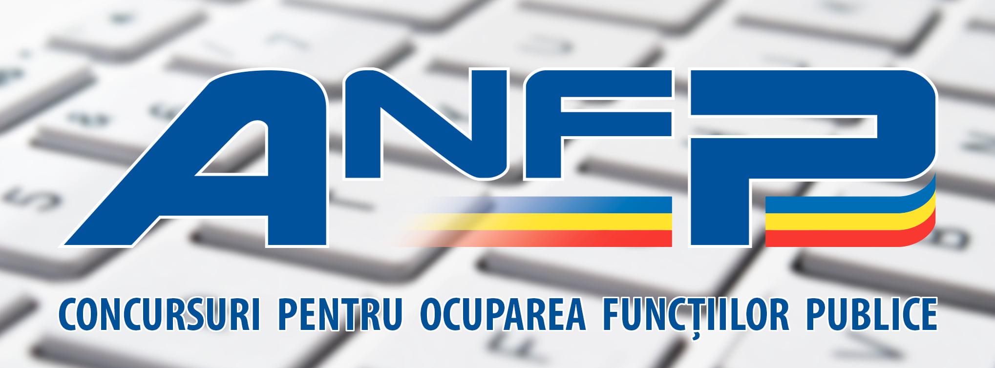 Pagină de facebook dedicată concursurilor pentru funcţii publice, lansată de ANFP