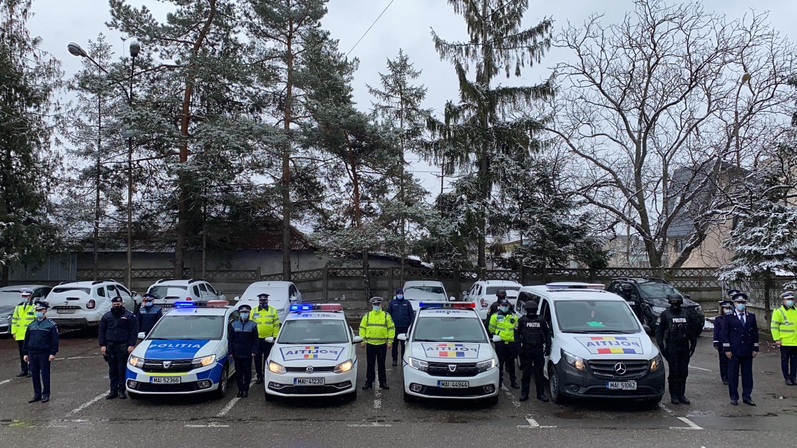 Moment de reculegere la IPJ Neamț, în memoria șefului Postului de Poliție Gherăești