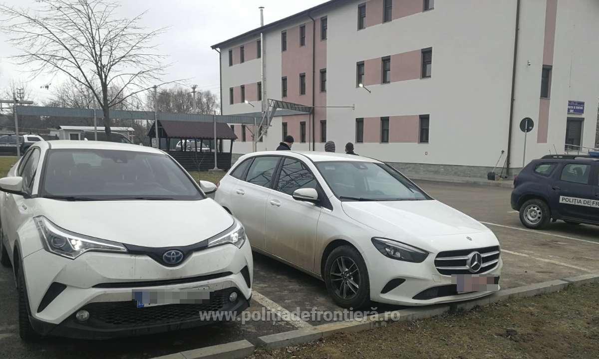 Prinși la graniță cu mașini semnalate ca furate din Italia
