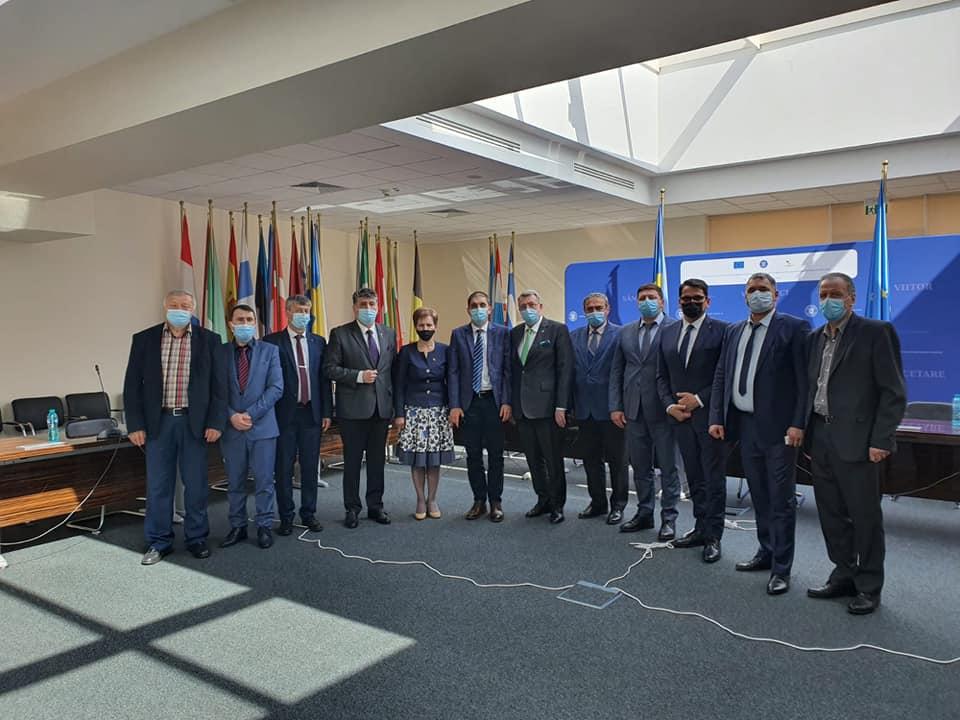 Deputatul Laurențiu Leoreanu, întâlniri de lucru la București cu primarii din județ