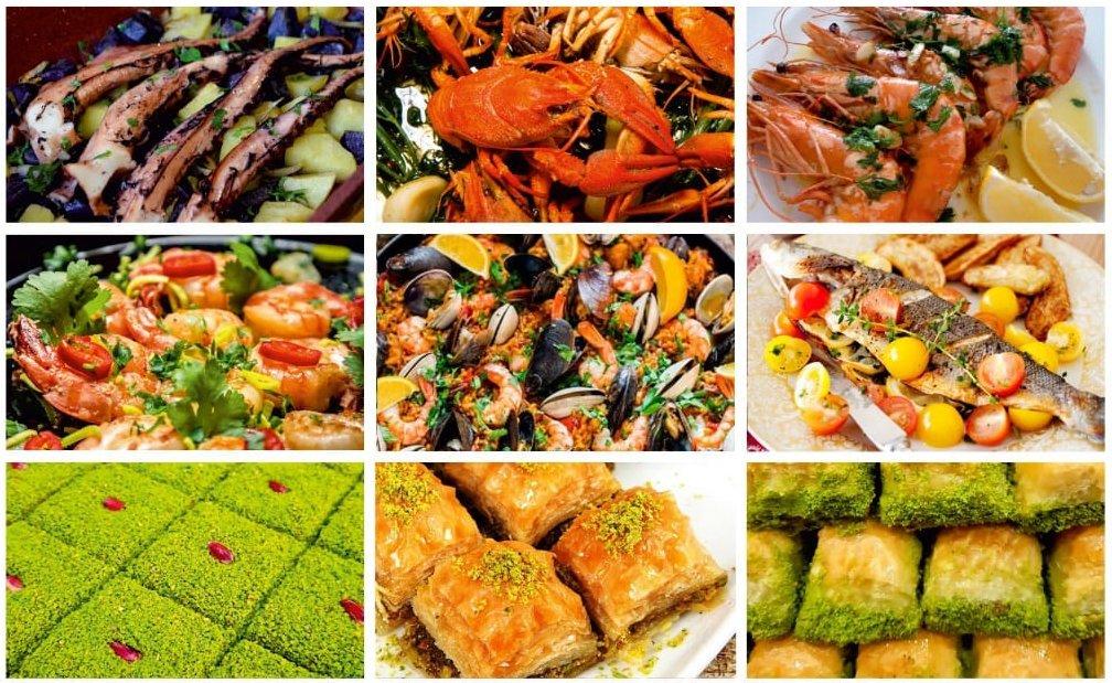 Festival culinar dedicat fructelor de mare și dulciurilor turcești, în Roman