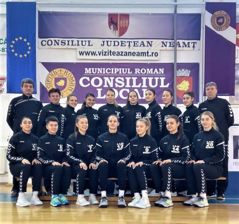CSM Roman, pe locul al patrulea la finalul sezonului regulat al Diviziei A de handbal feminin