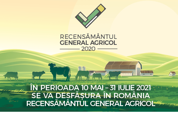 Peste 100.000 de exploatații agricole din Neamț, recenzate în cadrul Recensământului General Agricol