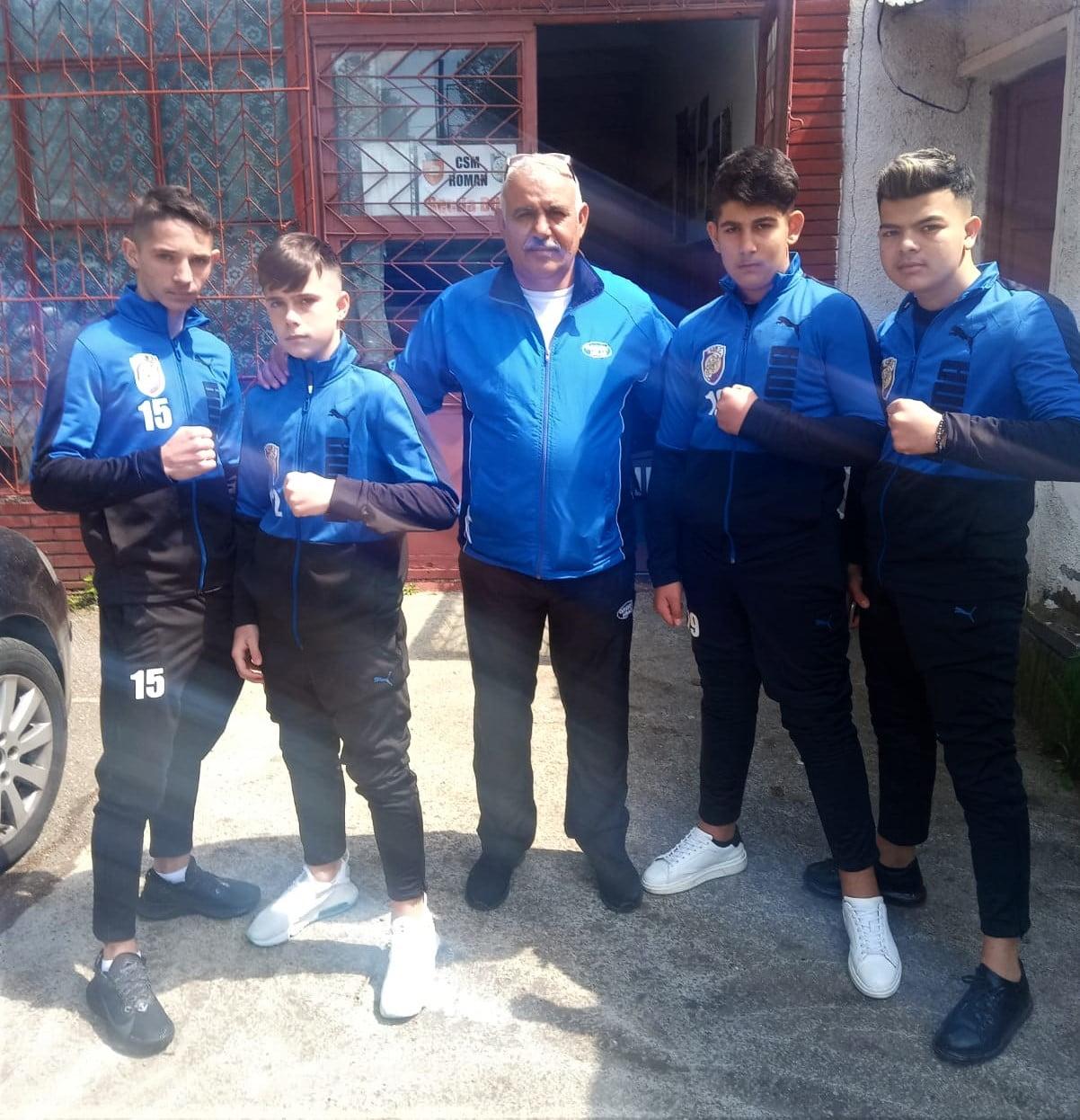 Sportivi romașcani la Finala Cupei României pentru cadeți la box