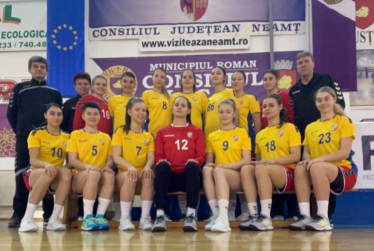 Echipa de handbal CSM Roman participă la turneul pentru promovarea în Liga Națională