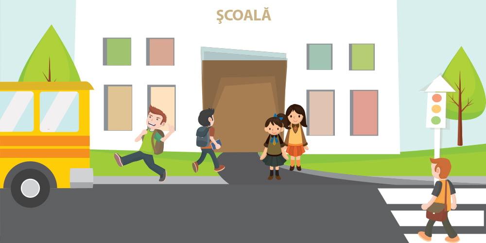 """Elevi din Roman și Horia vor studia gratuit educația rutieră, în proiectul """"Drum sigur – ABCdar rutier"""""""