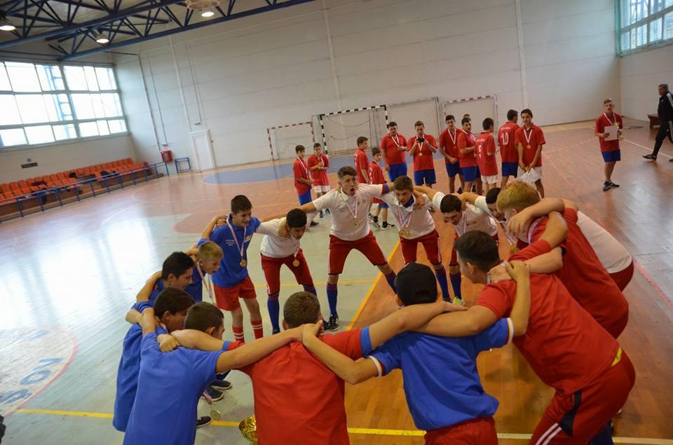 Biruința Gherăești, de trei ori campioană națională la oină în sală pentru juniori