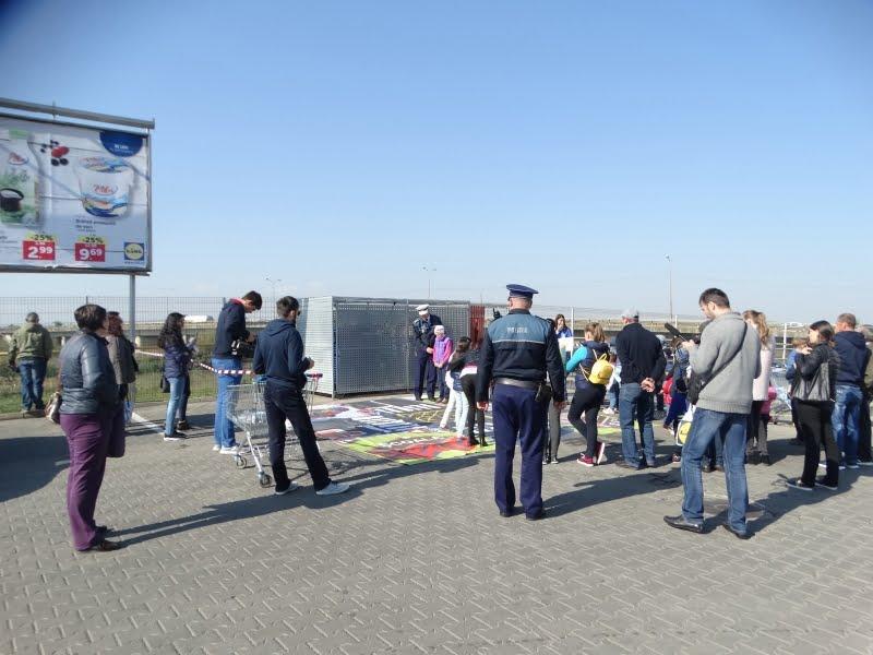 """Poliția Română și Lidl au dat """"Verde la educație pentru circulație"""" printr-o nouă lecție de educație rutieră"""