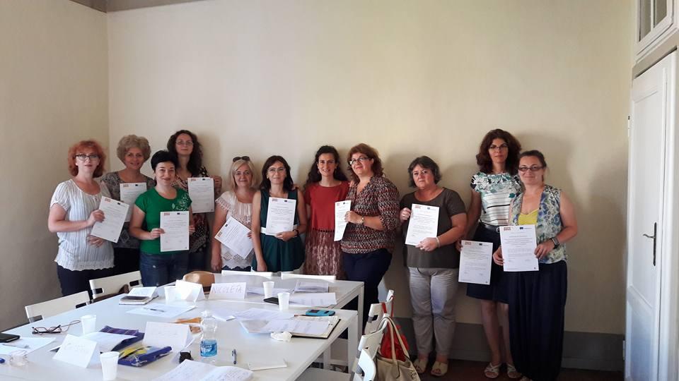 """Profesori din Colegiul Național ,,Roman-Vodă"""", școliți la Florența"""