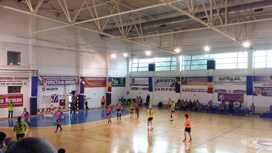 CSM Roman s-a calificat la pas în turul al doilea al Cupei EHF