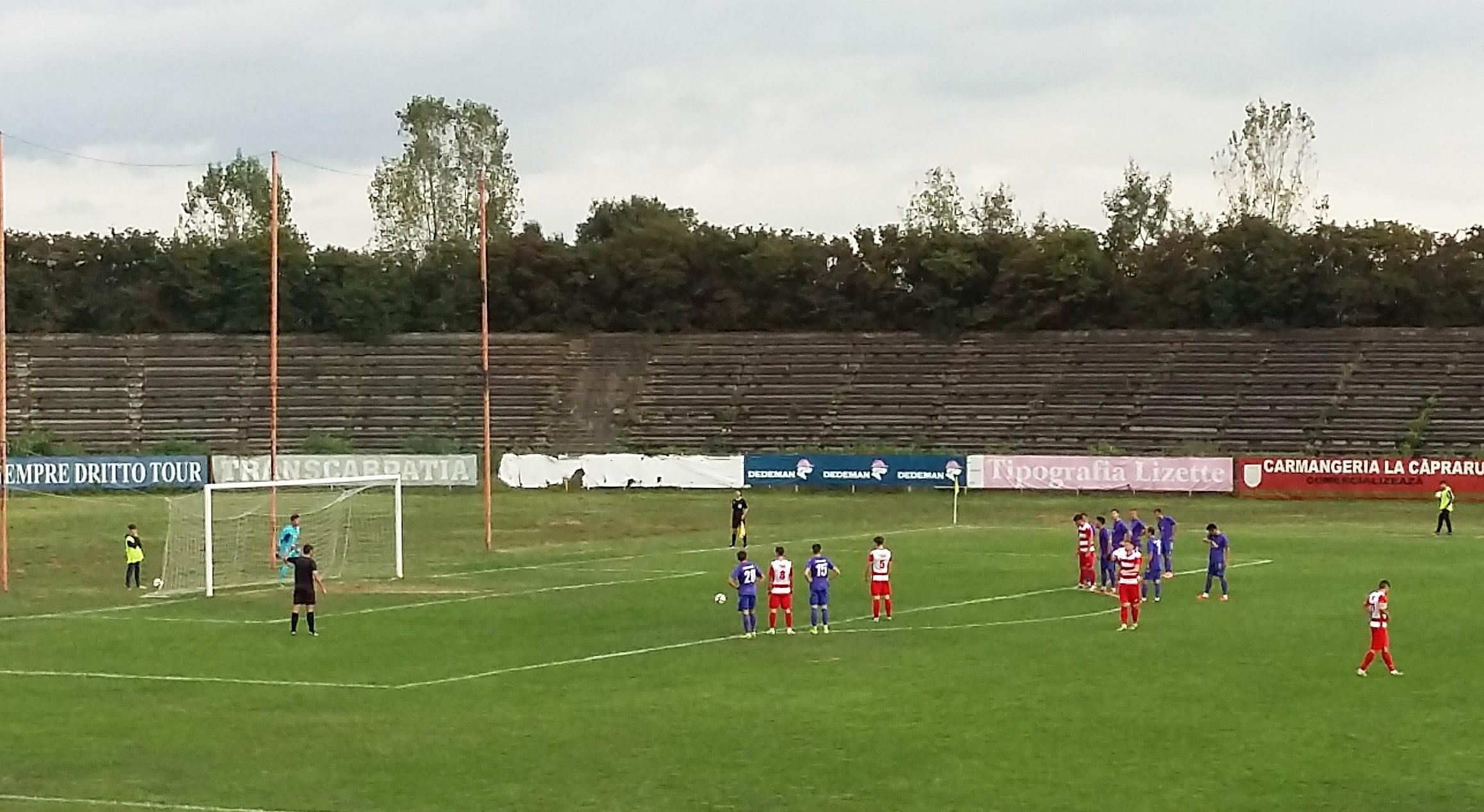 Înfrângere pentru fotbaliștii CSM Roman, pe teren propriu, în fața Sporting Liești