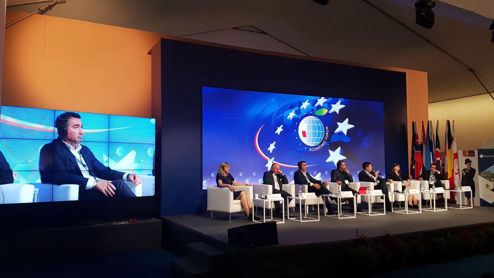 Proiectele de investiții ale județului Neamț, prezentate la cea de-a XXVII-a ediție a Forumului Economic din Krynica, Polonia
