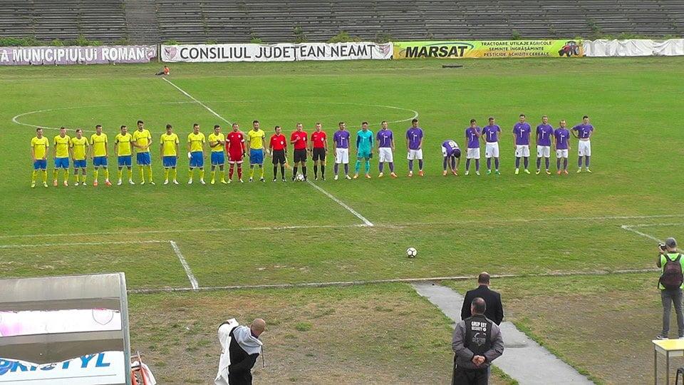 Fotbal, Liga a 3-a: Rezultat de egalitate pentru CSM Roman, în fața Aerostar Bacău