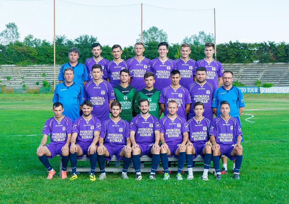 Fotbaliștii CSM Roman încheie sezonul pe locul al patrulea