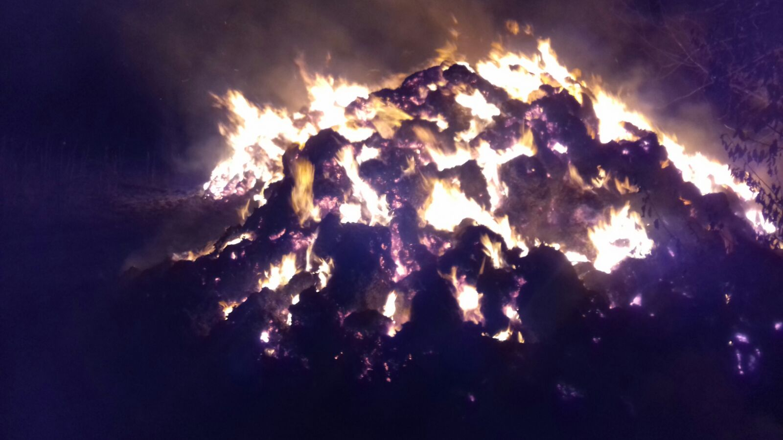 Incendiu pus intenționat, la Stănița
