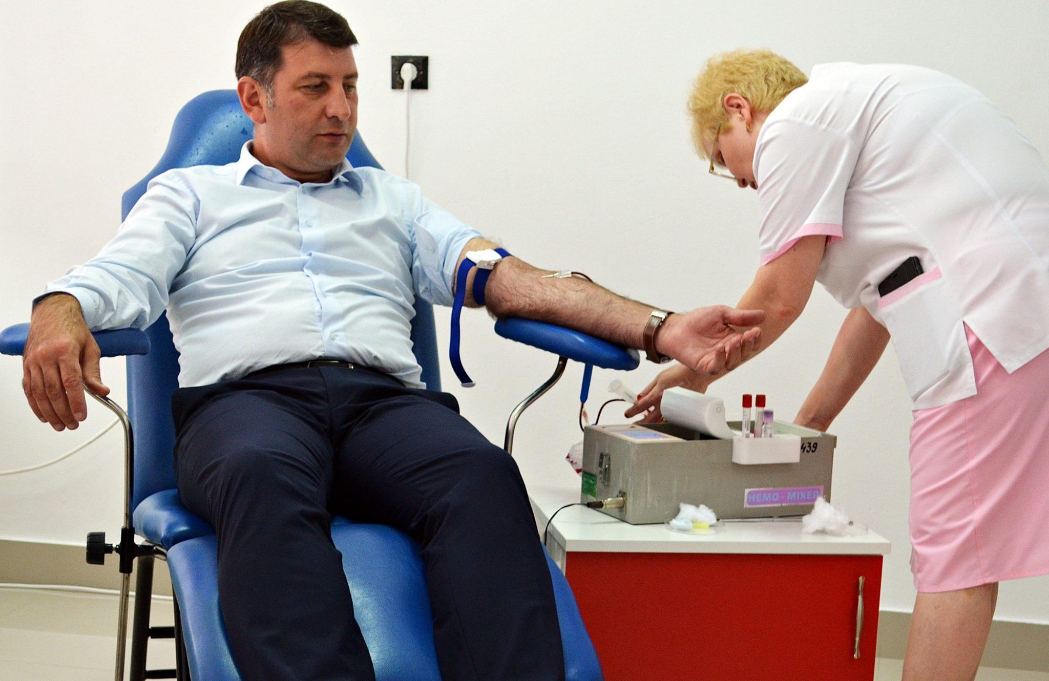 """Campanie de donare de sânge """"Romașcanii salvează vieți!"""", în luna august"""
