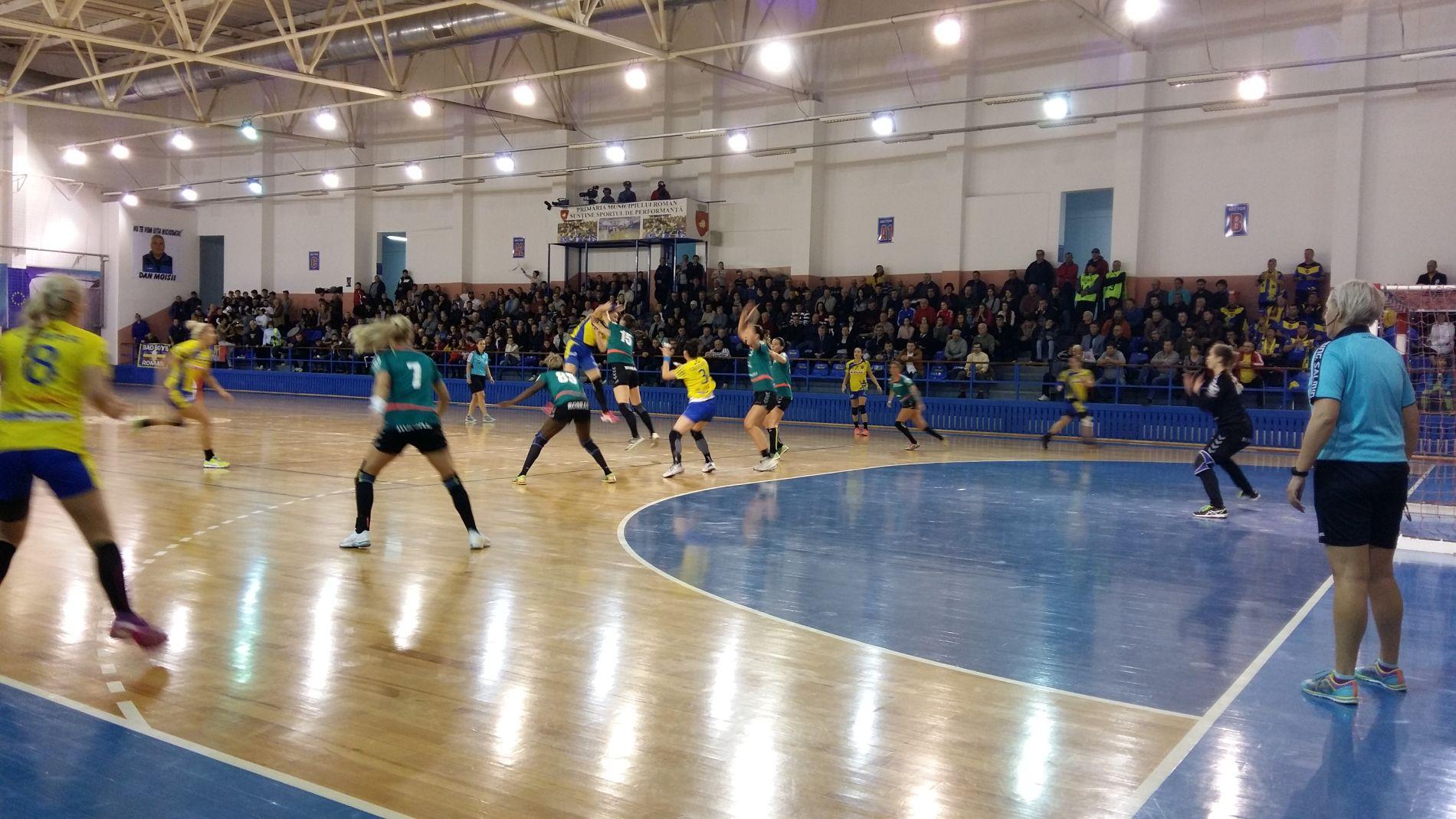 CSM Roman reia miercuri meciurile din Liga Națională, la Brașov
