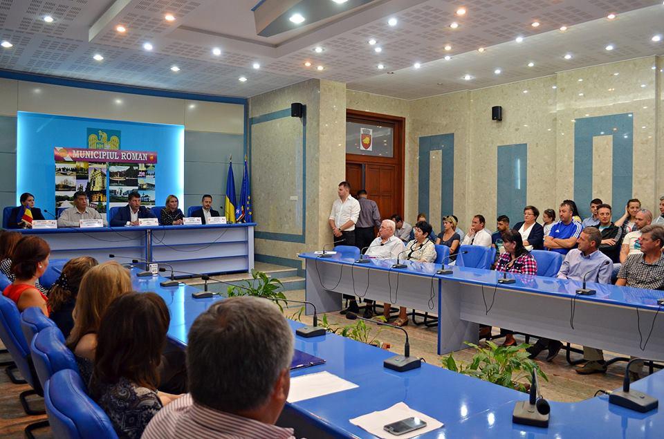Romașcanii care lucrează în străinătate, invitați la o nouă întâlnire cu conducerea orașului