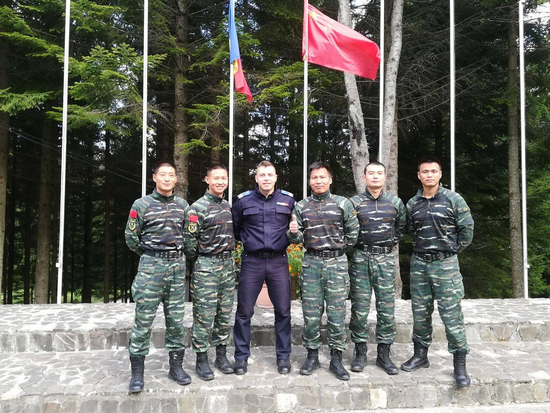 [VIDEO] Jandarm nemțean instruit de experți chinezi în arte marțiale
