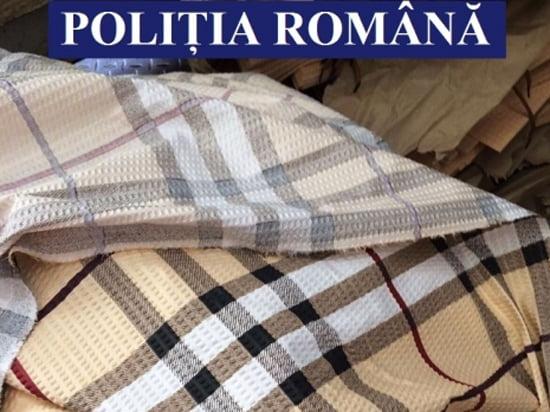 Mărfuri contrafăcute destinate unei firme din Neamț, confiscate de poliţişti