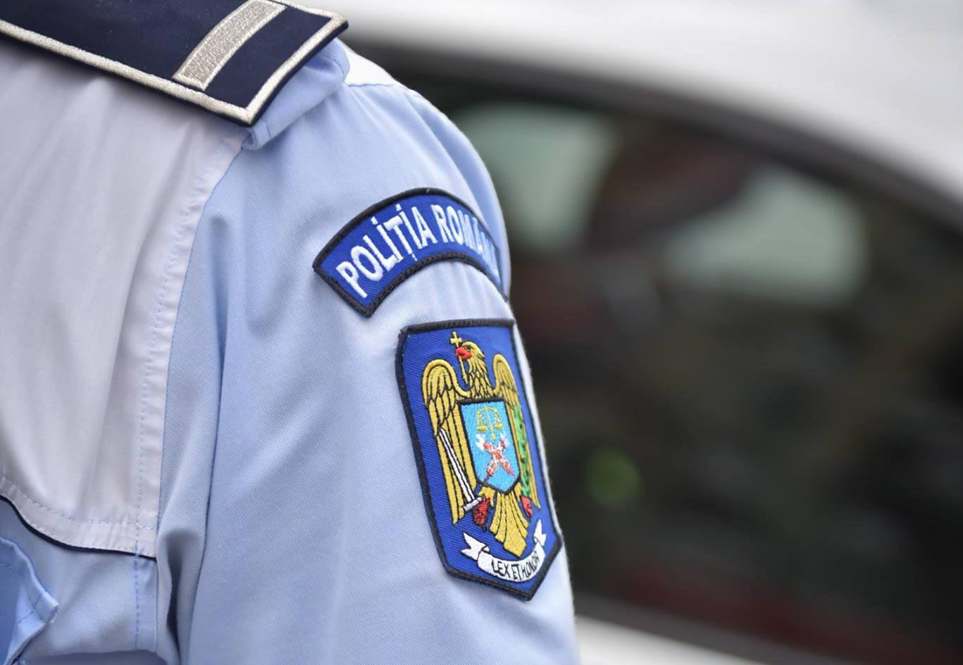 """Prins de polițiști și """"condus"""" la Penitenciarul Bacău"""