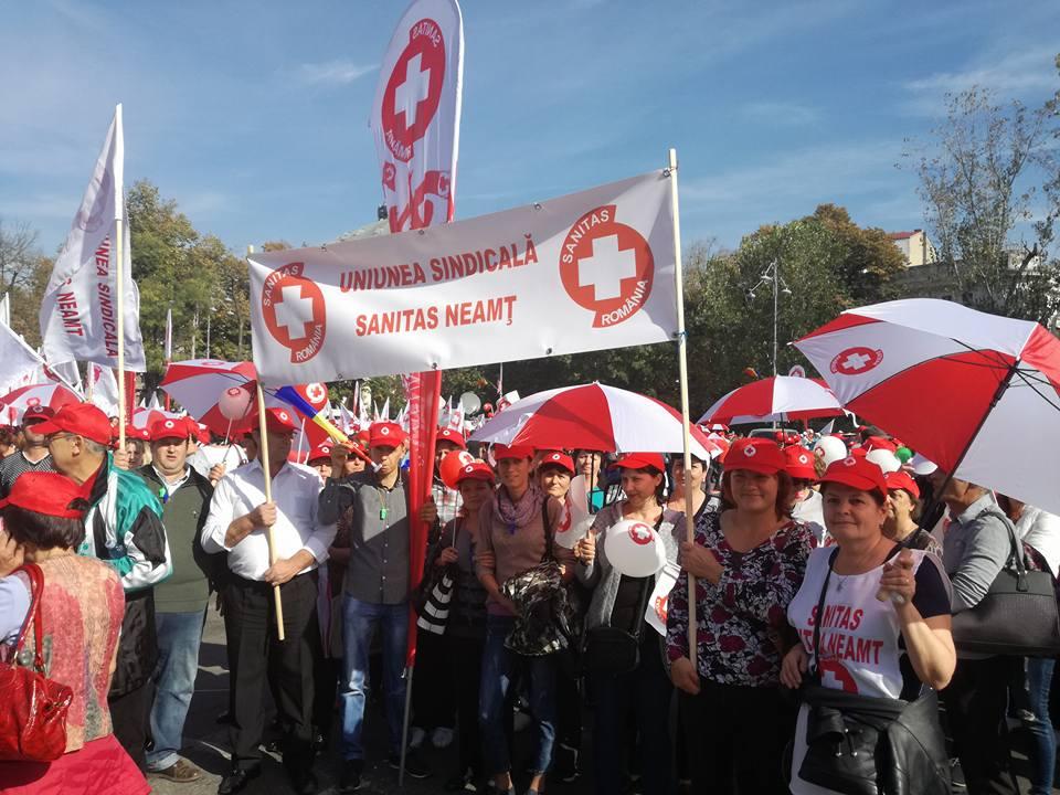 Angajații din Sănătate și Asistență socială se pregătesc de grevă generală